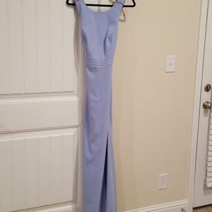 AFTER SIX formal periwinkle blue dress